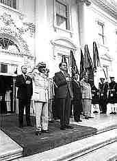 Nixon visits Ethiopia